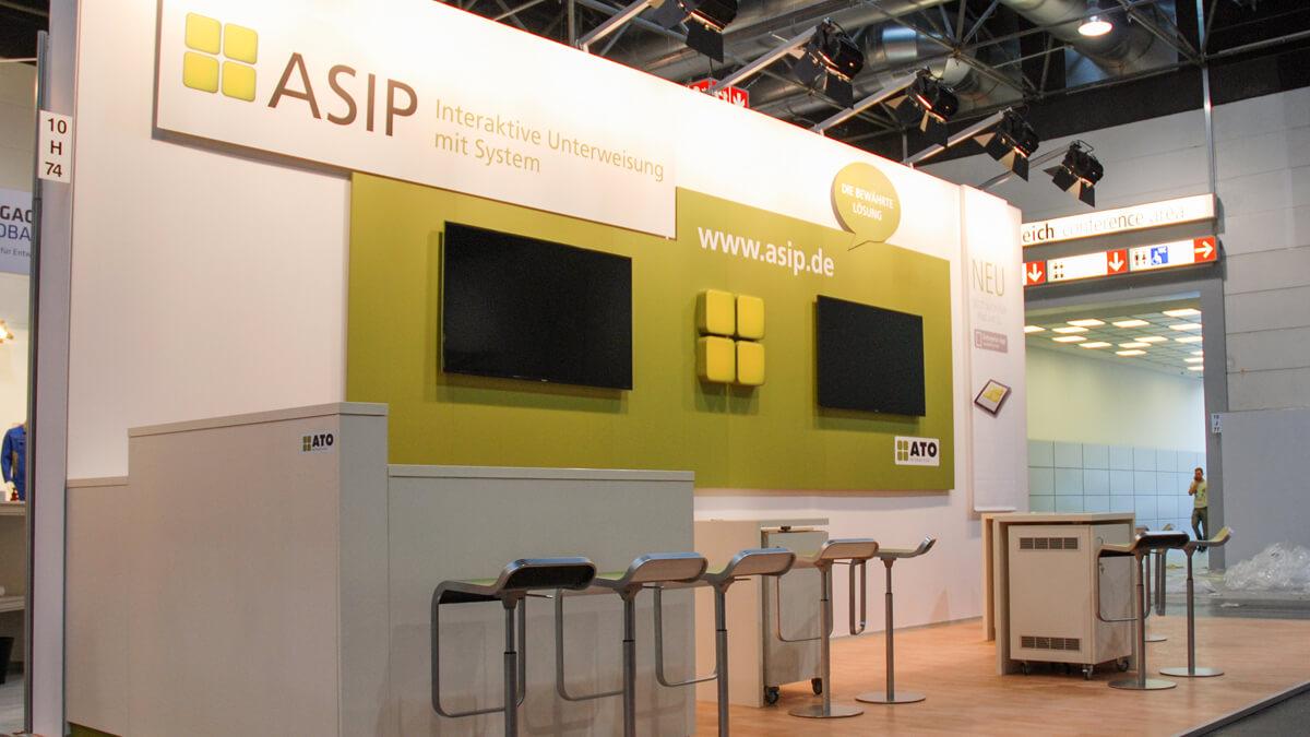 Anka Werbung - Messebau Bremen - Messebau - Individualstand (ATO A+A)