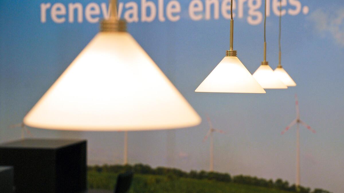 Anka Werbung - Messebau Bremen - Messebau - Beleuchtung (BLB Windenergie)
