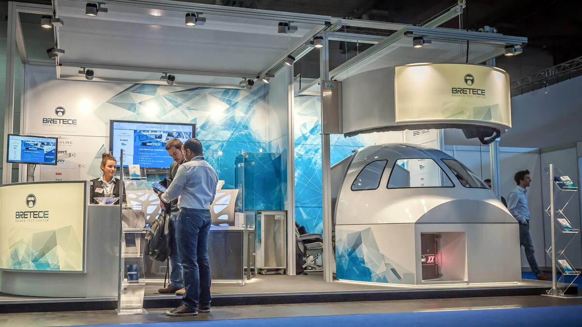 Anka Werbung - Messebau Bremen - Messebau - Messestand (Exxpert Space Tech Expo)