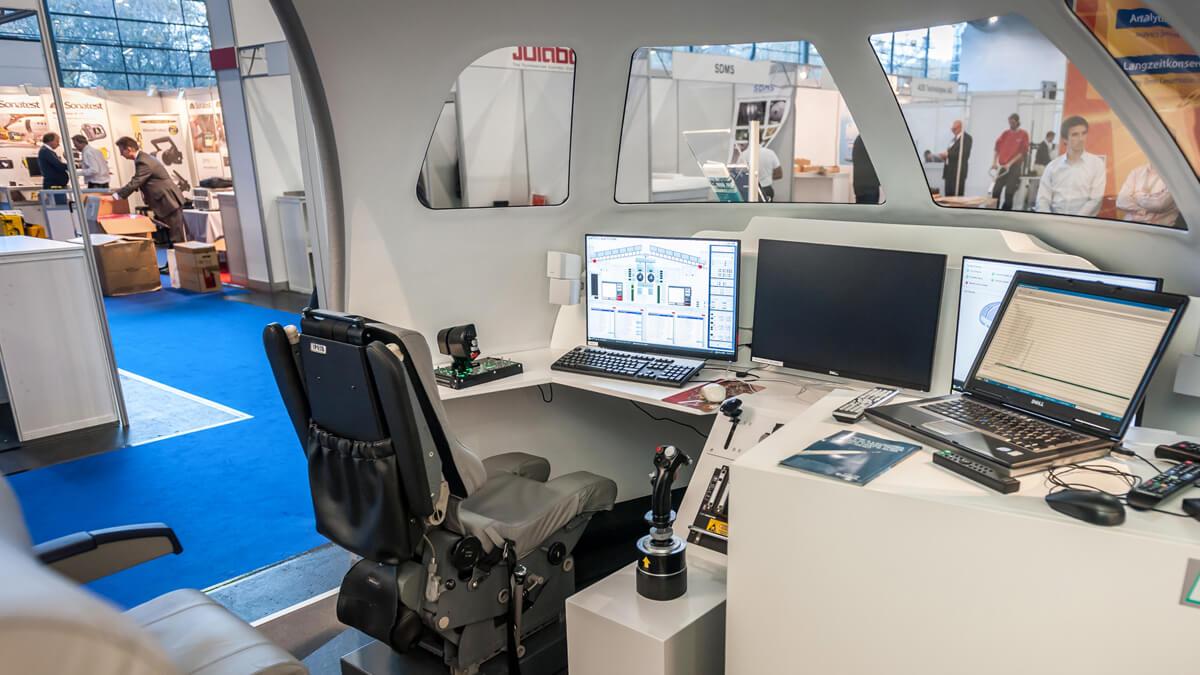 Anka Werbung - Messebau Bremen - Messebau - Sonderbauten (Exxpert Space Tech Expo)