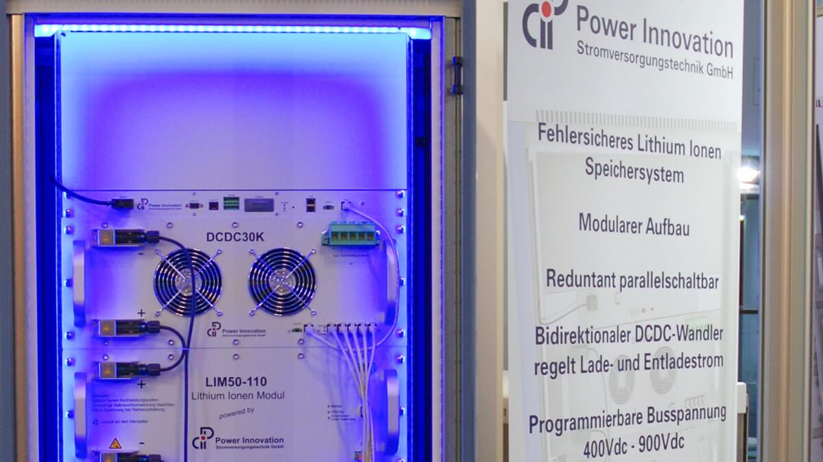 Anka Werbung - Messebau Bremen - Messebau - Exponat (PowerInnovation Electronica)