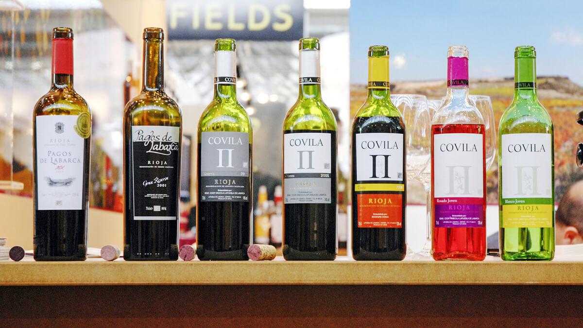 Anka Werbung - Messebau Bremen - Messebau - Produktpräsentation (Rioja Alavesa ProWein)