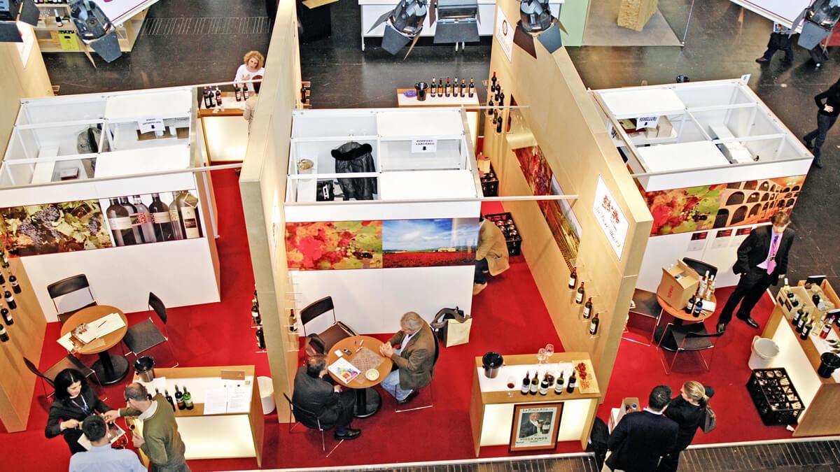 Anka Werbung - Messebau Bremen - Messebau - Sektionsbau (Rioja Alavesa ProWein)