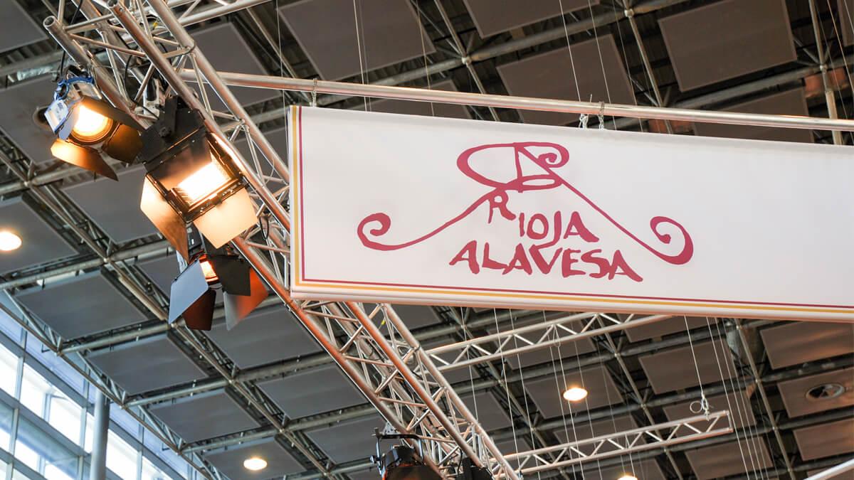 Anka Werbung - Messebau Bremen - Messebau - Traverse (Rioja Alavesa ProWein)