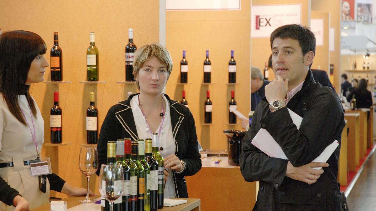 Anka Werbung - Messebau Bremen - Messebau - Standpersonal (Rioja Alavesa ProWein)