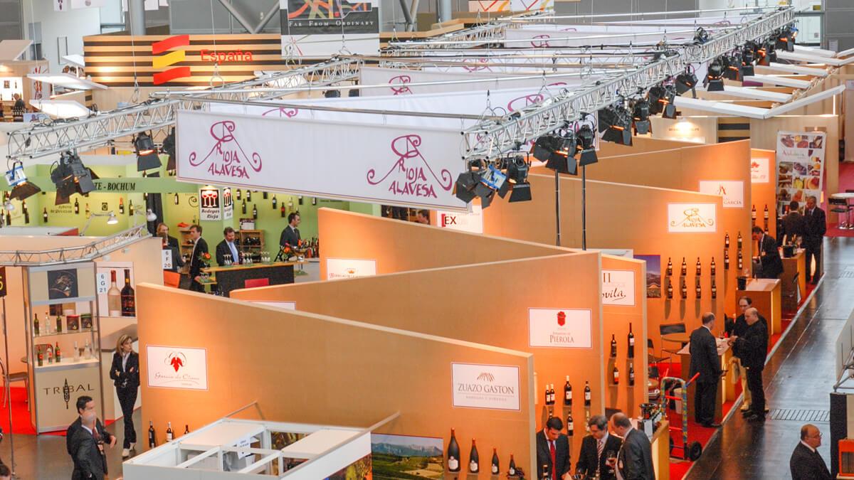 Anka Werbung - Messebau Bremen - Messebau - Individualstand (Rioja Alavesa ProWein)