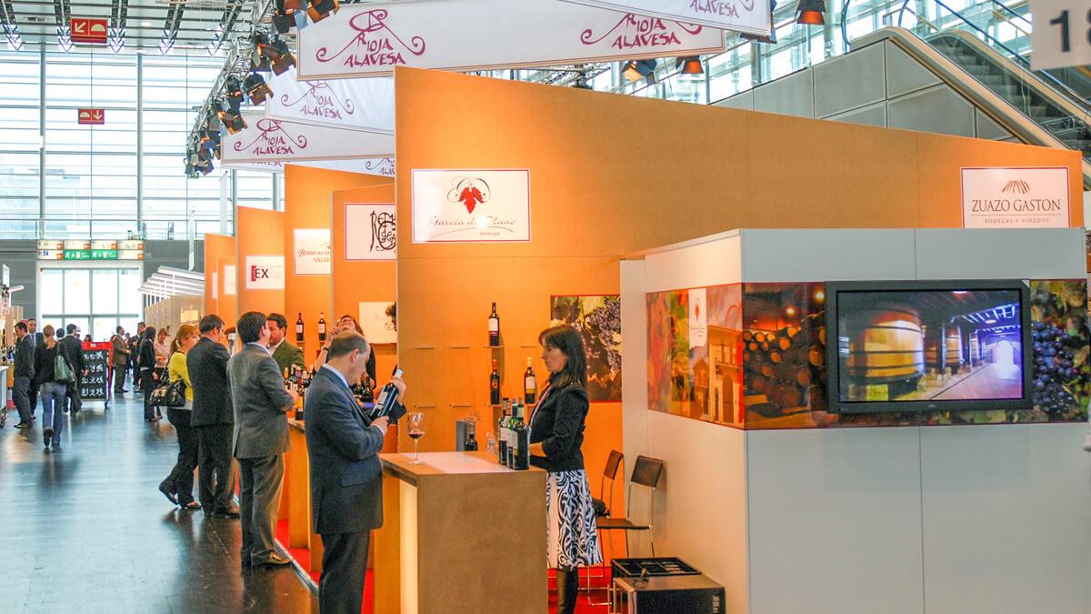 Anka Werbung - Messebau Bremen - Messebau - Messestand (Rioja Alavesa ProWein)