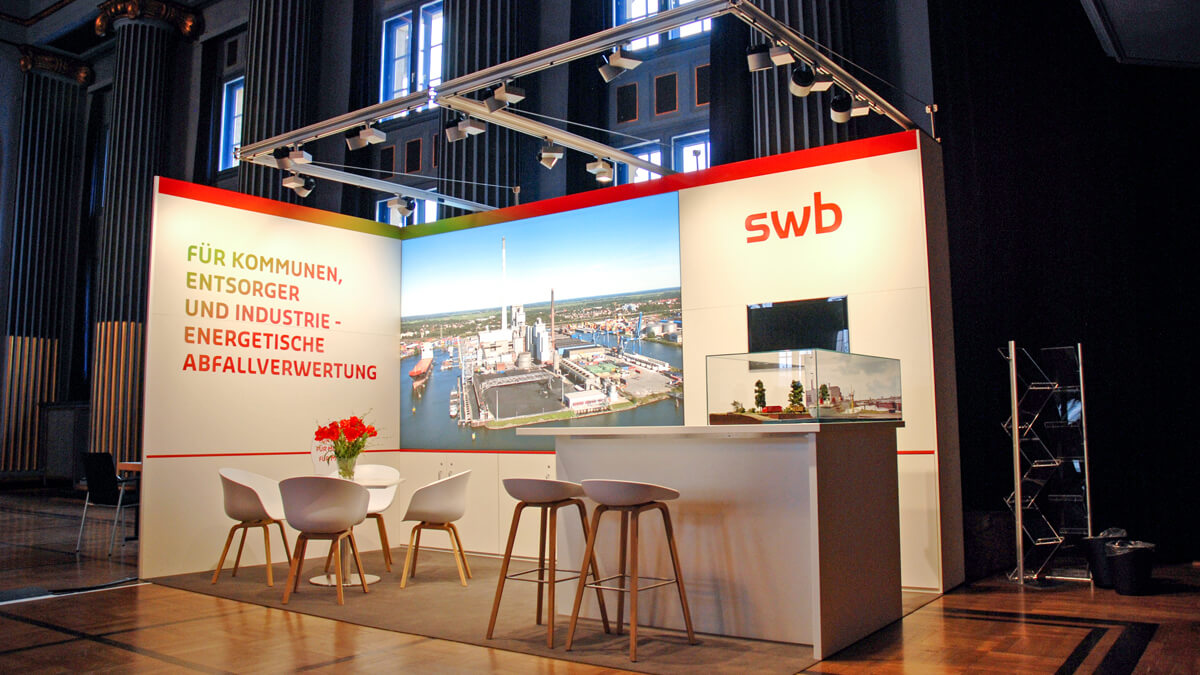Anka Werbung - Messebau Bremen - Messebau - Messestand (swb Bioenergieforum)