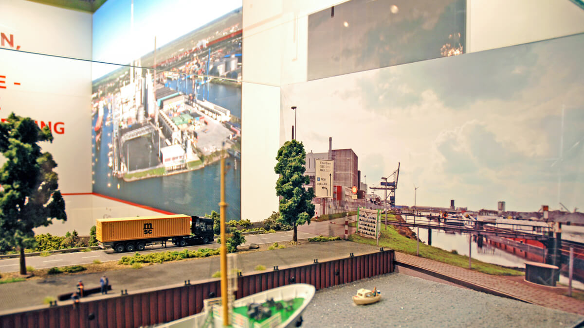 Anka Werbung - Messebau Bremen - Messebau - Spezialanfertigung (swb Bioenergieforum)