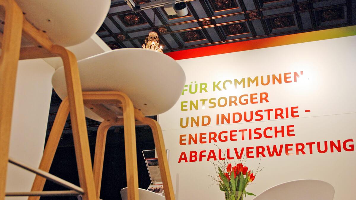 Anka Werbung - Messebau Bremen - Messebau - Ausstattung (swb Bioenergieforum)
