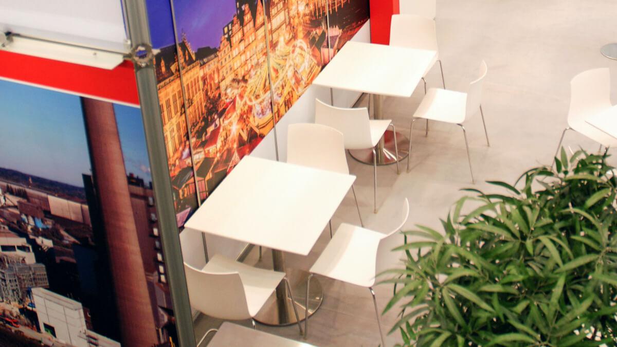 Anka Werbung - Messebau Bremen - Messebau - Mobiliar (swb eWorld)