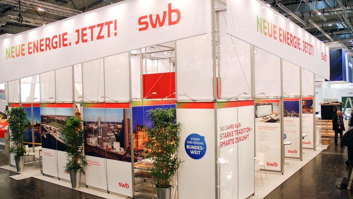 Anka Werbung - Messebau Bremen - Messebau - Indvidualstand (swb eWorld)