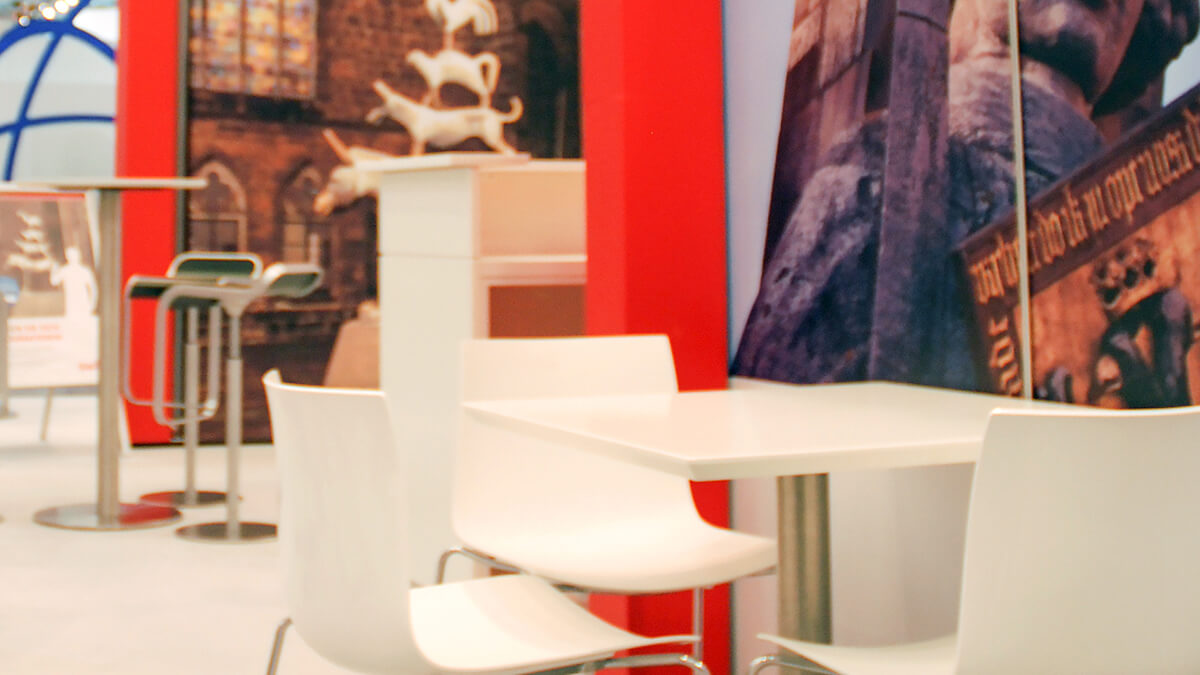 Anka Werbung - Messebau Bremen - Messebau - Messemöbel (swb eWorld)