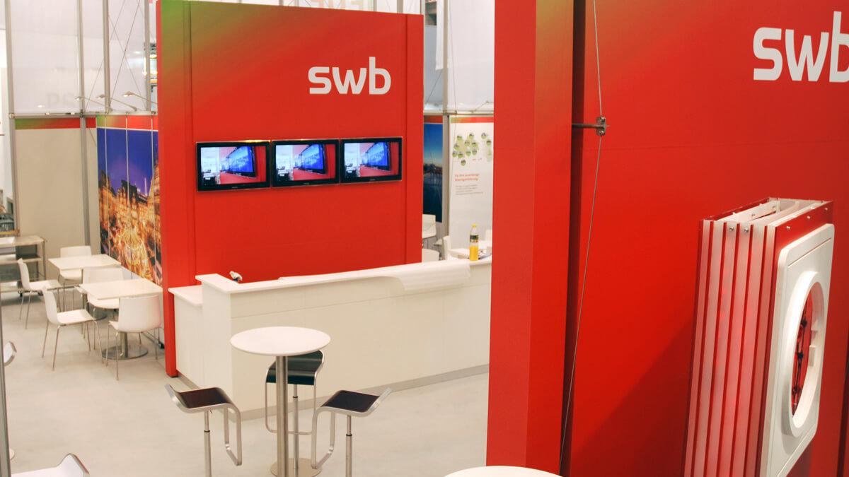 Anka Werbung - Messebau Bremen - Messebau - Sonderbauten (swb eWorld)