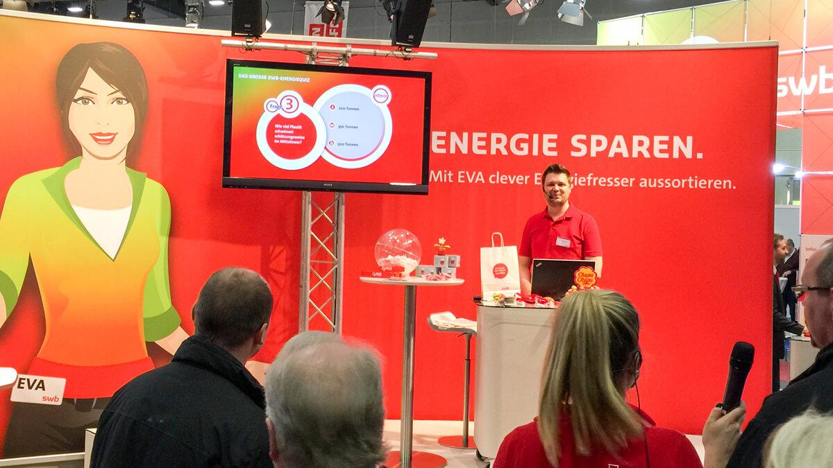 Anka Werbung - Messebau Bremen - Messebau - Präsentation (swb HanseBau 2016)