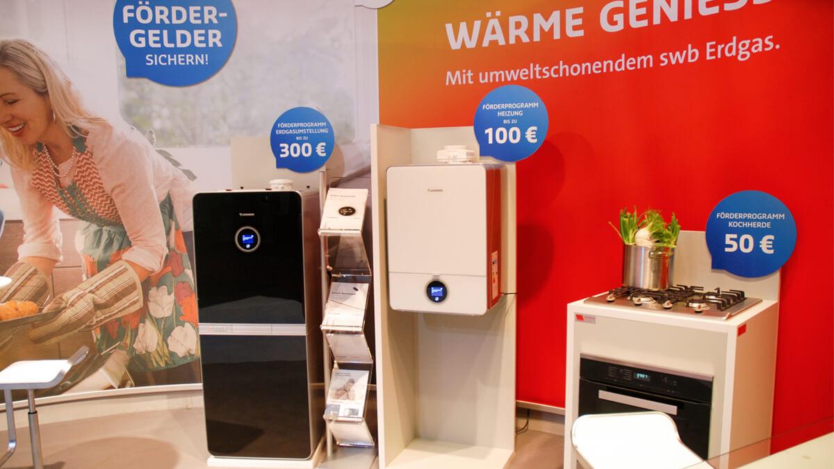 Anka Werbung - Messebau Bremen - Messebau - Produktpräsentation (swb HanseBau 2016)