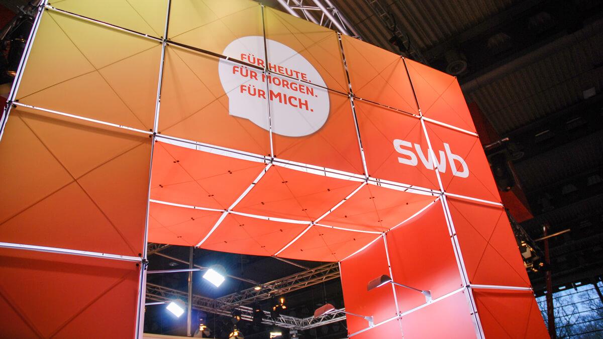 Anka Werbung - Messebau Bremen - Messebau - Pila System (swb HanseBau 2016)