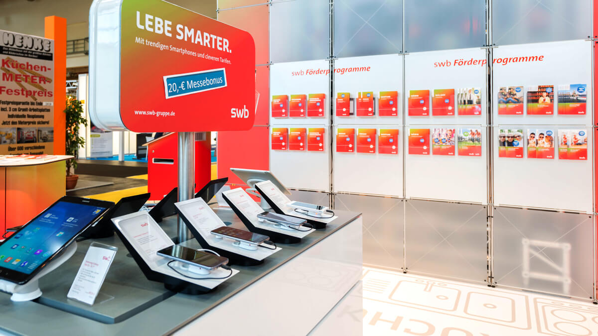 Anka Werbung - Messebau Bremen - Messebau - Exponate Technik (swb HanseLife 2016)