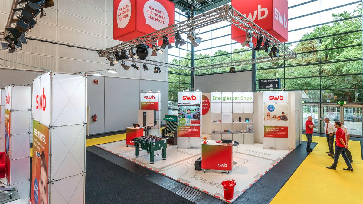 Anka Werbung - Messebau Bremen - Messebau - Pila System (swb HanseLife 2016)