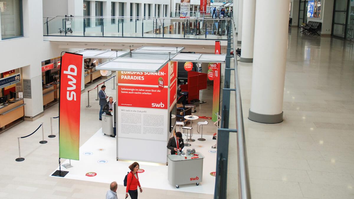 Anka Werbung - Messebau Bremen - Messebau - Messestand (swb Tag der Technik)