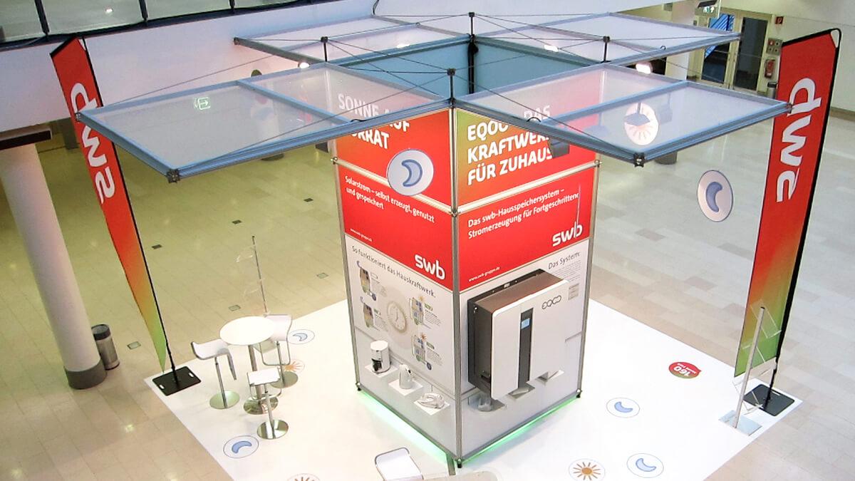 Anka Werbung - Messebau Bremen - Messebau - Standdesign (swb Tag der Technik)