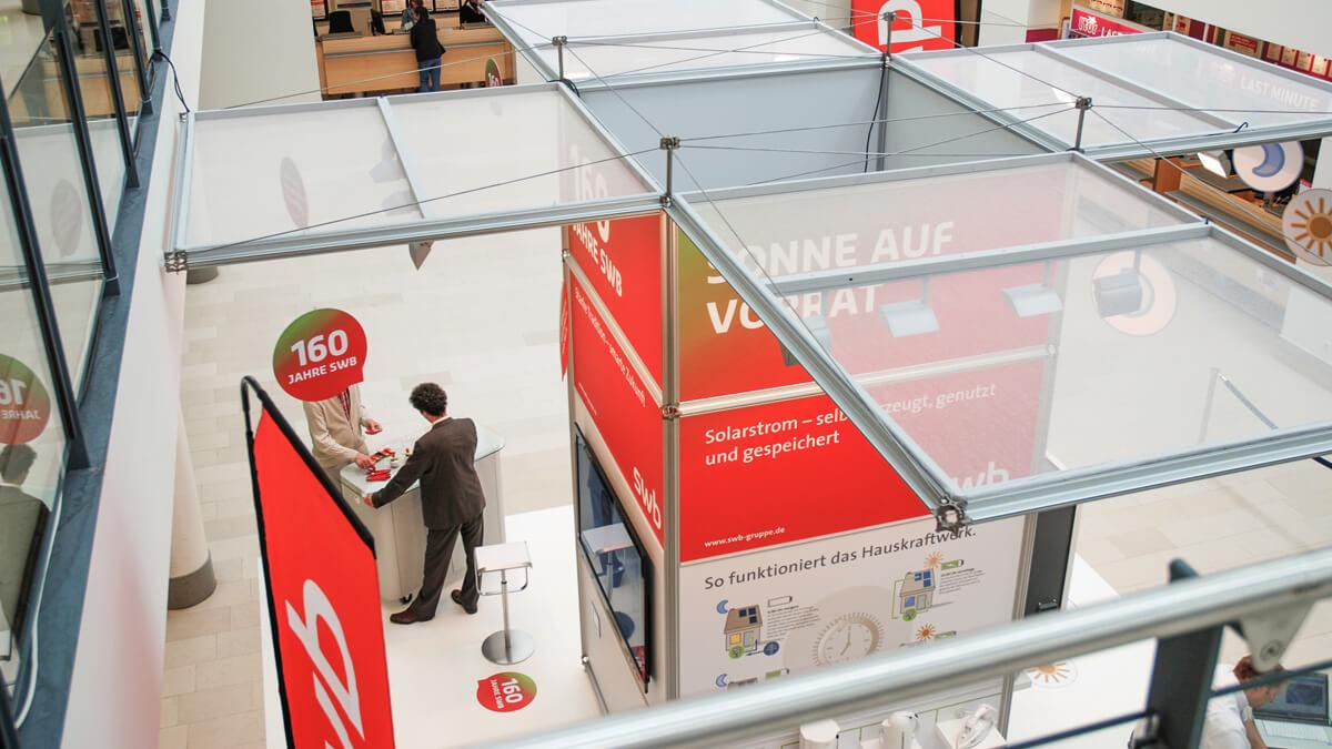 Anka Werbung - Messebau Bremen - Messebau - Individuelle Messearchitektur (swb Tag der Technik)