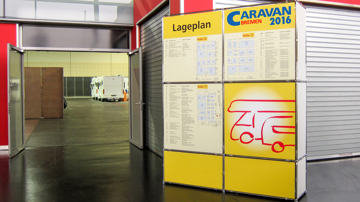 Anka Werbung - Messebau Bremen - Werbetechnik - Lageplan