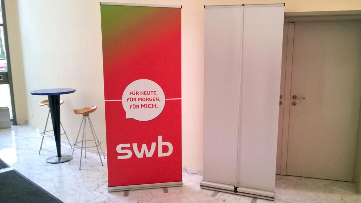 Anka Werbung - Messebau Bremen - Werbetechnik - Rollup System