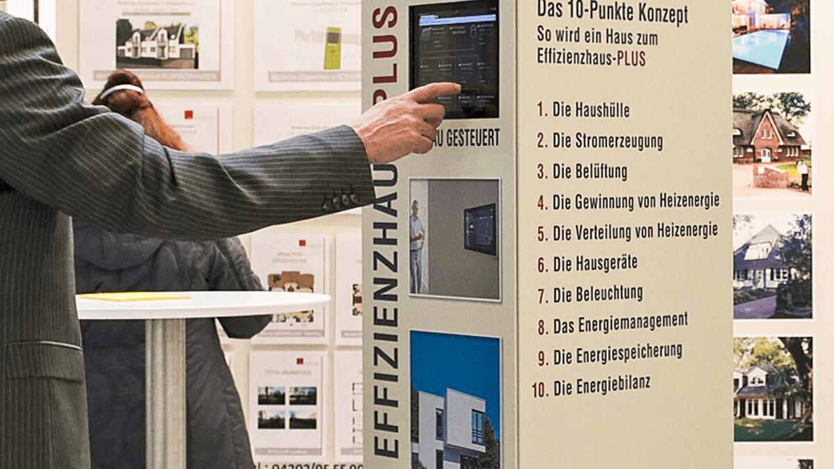 Anka Werbung - Messebau Bremen - Werbetechnik - Infodisplay iPad