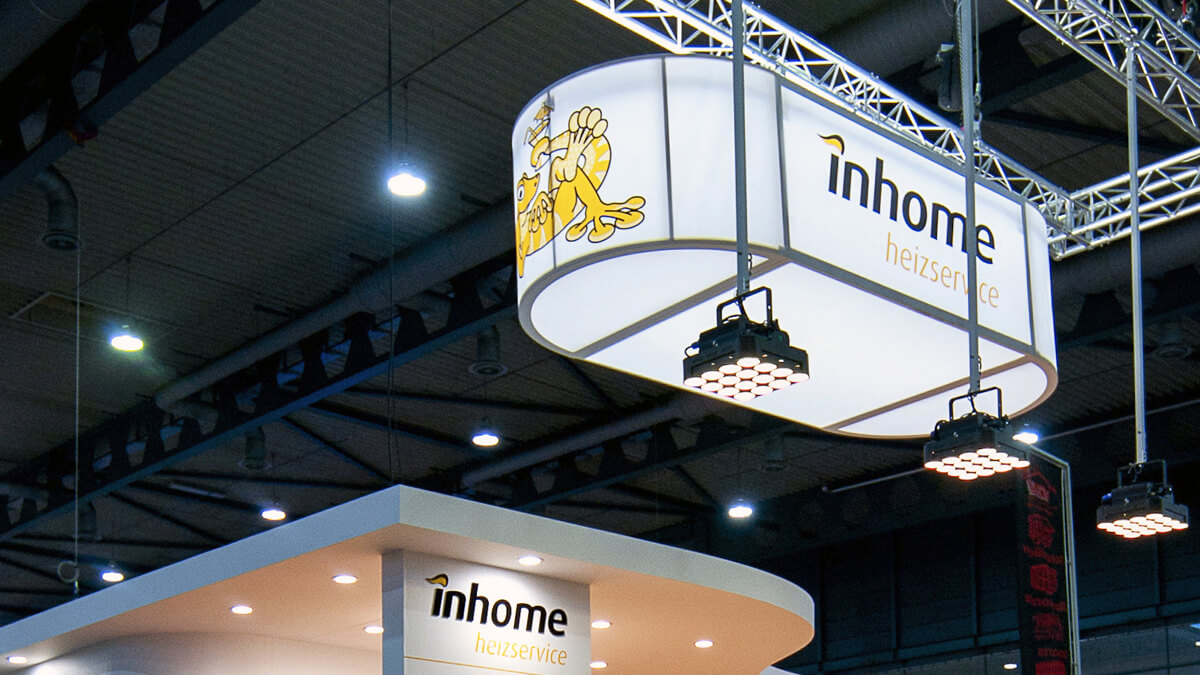 Anka Werbung - Messebau Bremen - Werbetechnik LED-Lichtanlagen - Deckenelement