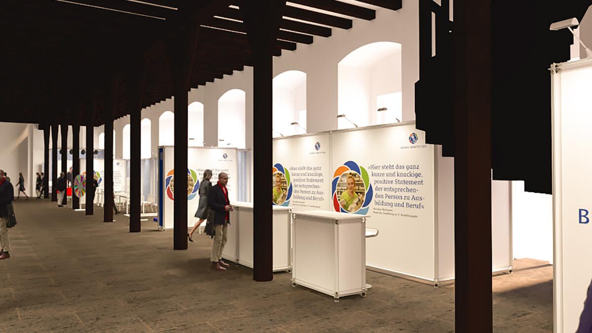 Anka Werbung - Messebau Bremen - Ausstellungen - Konzept (Bremer Heimstiftung - 65 Jahre)