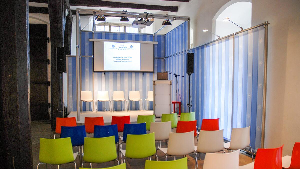 Anka Werbung - Messebau Bremen - Ausstellungen - Podium (Bremer Heimstiftung - 65 Jahre)