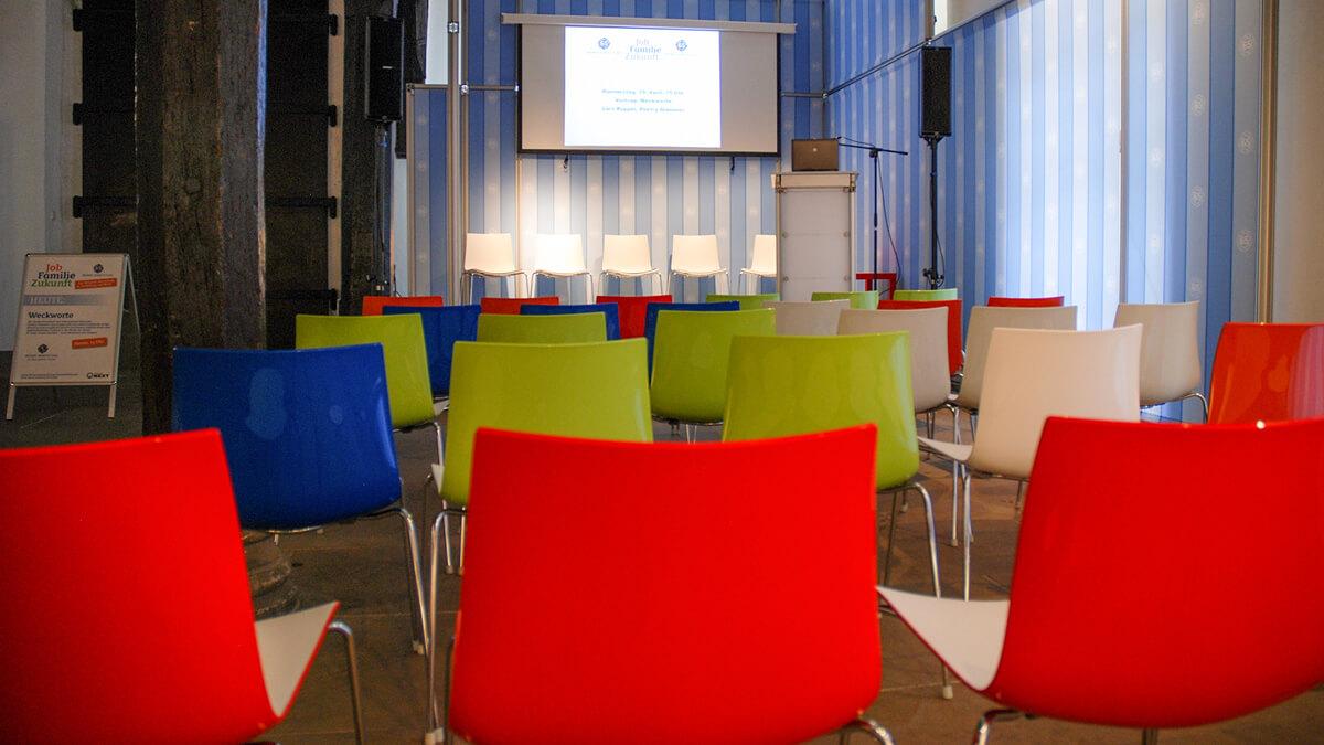 Anka Werbung - Messebau Bremen - Ausstellungen - Unternehmenspräsentation (Bremer Heimstiftung - 65 Jahre)